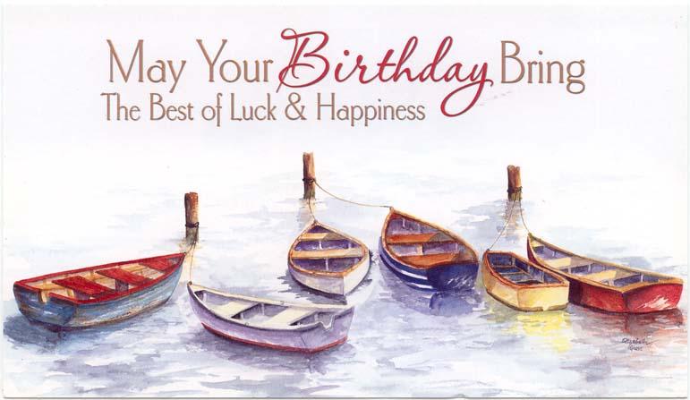 Image row boats happy birthday austin ally for Fishing birthday wishes