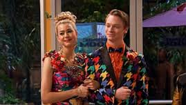 Carrie and Dez to the prom