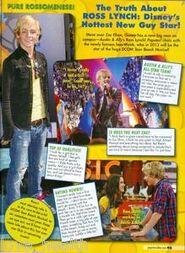 Ross Lynch Magazine