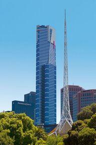 Eureka tower 2 fauxwindow
