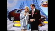John burgess and adriana xenides hosting wheel of fortune -family week in 1995