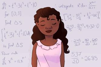 Mathematical Woman by MissLunaRose