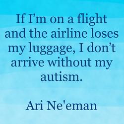 Ari Ne'eman Autism Quote