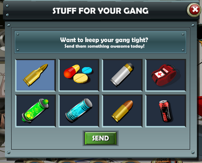 Stuff for your gang