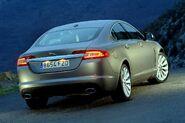 Jaguar XF silver