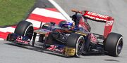Daniel Ricciardo 2012 Malaysia Qualify