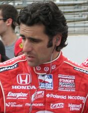 Dario Franchitti 2009 Indy 500 Carb Day