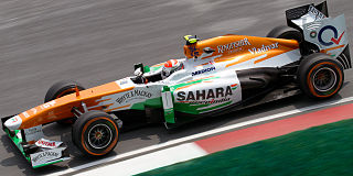 Adrian Sutil 2013 Malaysia FP1