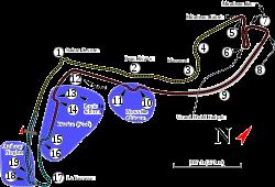 Monte Carlo Formula 1 track map