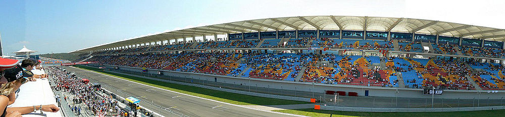 Istanbul Park Turkish Grand Prix Circuit