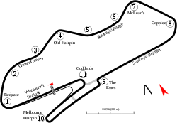 Donington as of 2006
