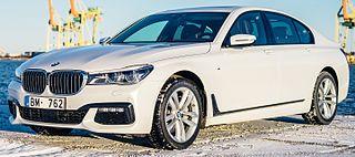 2016 BMW 7-Series (G11) sedan, front view