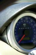 Ascari-KZ1 dial