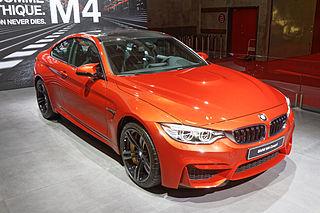 BMW M4 Coupé - Mondial de l'Automobile de Paris 2014 - 003