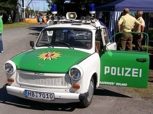 Trabant Polizeiversion