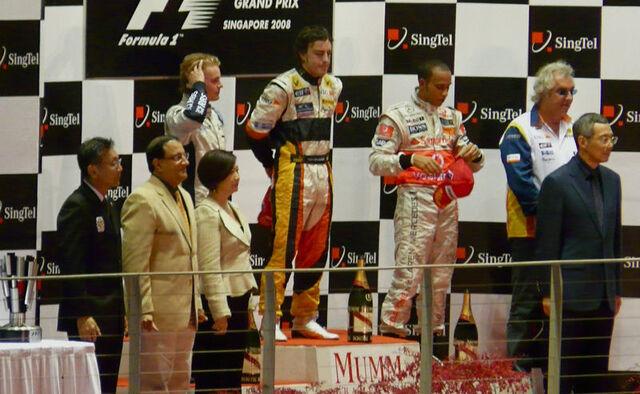 File:2008 Singapore Grand Prix podium.jpg