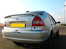 File:220px-Rear view of Ford Ikon TDCi edited number plate.jpg