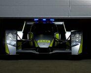 Caparo T1 Cop Car Front