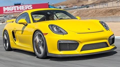 2016 Porsche Cayman GT4 Hot Lap! - 2015 Best Driver's Car Contender
