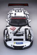 2016 Porsche 911 GT3 R Studio Image - Overhead