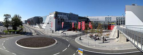 Panorama Nürburgring Haupteingang 2010