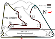 Bahrain International Circuit--Grand Prix Layout