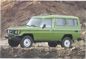 Toyota LandCruiser hzj78