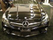 2009 black Mercedes SL 63 AMG front