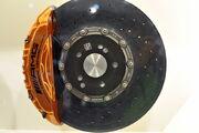 Amg carbon ceramic brake geneva auto show 2011