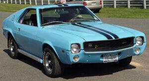 1969 AMC AMX blue
