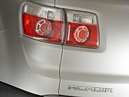 0607 z-2007 gmc acadia-detail taillight