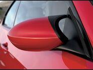 BMW M3 mirror detail