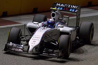 Valtteri Bottas 2014 Singapore FP2