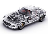 Mercedes-Benz-SLS AMG 2011 1600x1200 wallpaper 7c