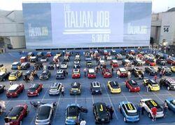 MINI at premiere of the italian job