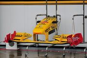 Renault R30 Front wing