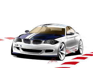 2007 BMW 1 series tii concept sketch
