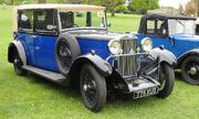 Sunbeam saloon registered July 1932 2194 cc