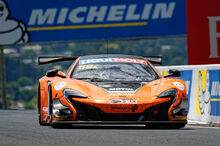 2016 McLaren 650S GT3 pictured here won the 2016 race and has the lap record as of now