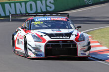 The Nissan GT-R NISMOGT3whichwonthe2015race