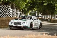 Bentley continental GT3 at goodwood