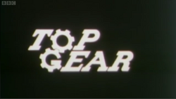 Top Gear logo original