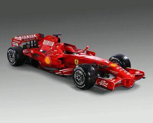 Ferrari F2008 1
