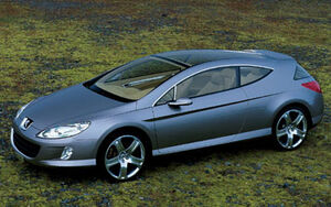 2003 fms 01-2004 peugeot 407 elixir concept-front side view