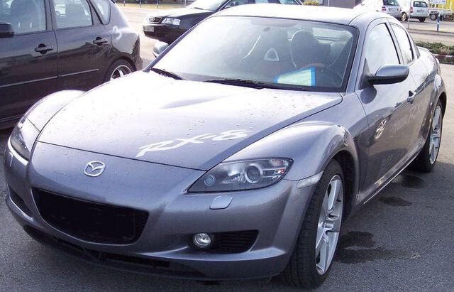 File:800px-Mazda RX 8 titan front left.jpg