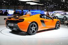 McLaren 650S Spider rear