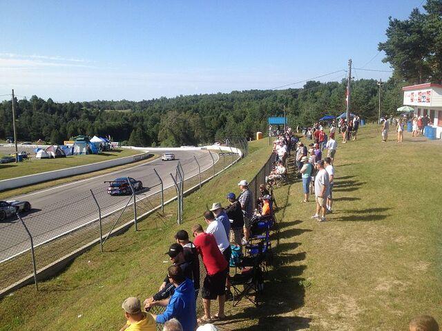 File:View of entry into Clayton Corner Turn 2 Canadian Tire Motorsport Park Mosport.jpg