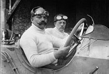 Christian Lautenschlager at the 1914 French Grand Prix (2)