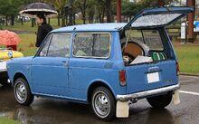 1967 Honda LN360 rear