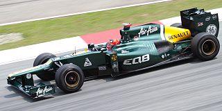 Heikki Kovalainen 2012 Malaysia FP2